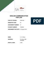 Enn106j Assignment 01 07844654 Cholivier 2