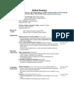 mellad doudzai resume 2017