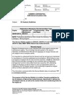 SPB 22 QSV Oil Analysis Guidelines