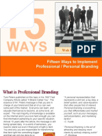 15 Ways to Professionally Brand You120