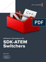 Blackmagic Switchers SDK