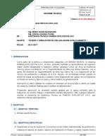 01 INFORME TÉCNICO Perforacion y Voladura