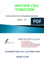 Exam Cell Automation - Abstract