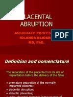 14 15 Abruption of Placenta