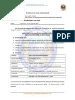 Informe Nro68 Plan de Trabajo Del Simulacro 13-10-2015