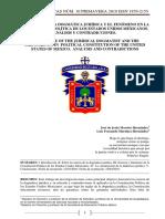 Revista Letras Juridicas 10-La Esencia Dogmatica Juridica y El Fenomeno en La Constitucion Politica de Los Estados Unidos Mexicanos