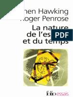 Stephen Hawking, Roger Penrose-La Nature de l'Espace Et Du Temps