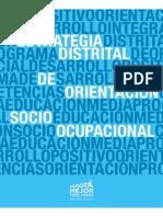 Estrategia Distrital de Orientación Socio Ocupacional