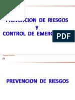 Prevención  de Riesgos y Control de Emergencias