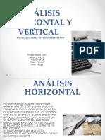 Análisis Horizontal y Vertical Empresa Santander