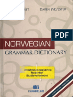 Norwegian Grammer dictionary