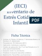 (IECI) Inventario de Estrés Cotidiano Infantil