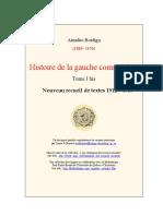 Amadeo Bordiga, Histoire de la gauche communiste. Tome I bis, « 1912 – 1919 »..pdf