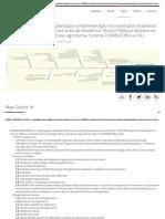 EAP Da ENGENHARIA PÚBLICA - Implantação e Implementação Nos Municípios Brasileiros Da Lei Federal 11.888_2008