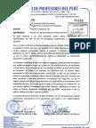 PROYECTO DE LEY SOBRE PROFESOR CESANTE Y JUBILADO