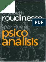 Por qué el psicoanálisis - Elisabeth Roudinesco.pdf