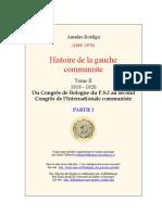 Amadeo Bordiga, Histoire de la gauche communiste. Tome II, partie I « 1919 – 1920 »..pdf