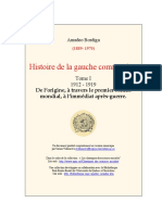 Amadeo Bordiga, Histoire de la gauche communiste. Tome I, « 1912 – 1919 »..pdf