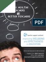 Teacher Support Scotland poster (A4)