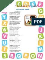 Alfabeto Para Un Niño