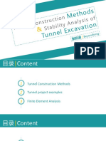 Stability Analysis of Tunnel Excavation1