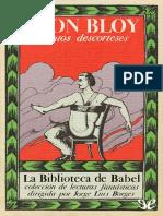 Bloy, León (1984) Cuentos Descorteses
