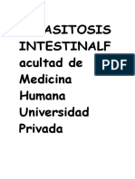 PARASITOSIS INTESTINALFacultad de Medicina Humana Universidad Privada Antenor Orrego