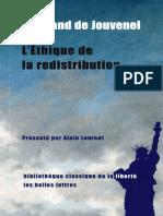 L'éthique de la redistribution - Bertrand de Jouvenel.pdf