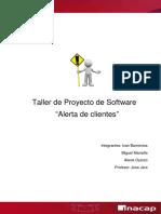 Taller de Proyecto de Software PMBOk