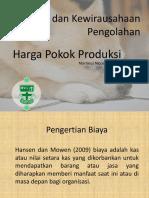 Materi 2 - Perhitungan Harga Pokok Produksi