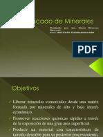 Chancado de Minerales