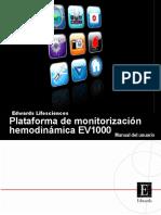 Manual EV1000 ES