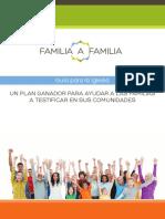 Familia a Familia