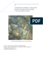 Norwood Island Mussel Study Report 2017