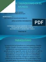 Niveles de Tabaquismo en El Mundo.
