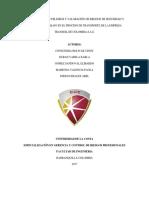 Identificación de Peligros y Valoración de Riesgos de Seguridad y Salud