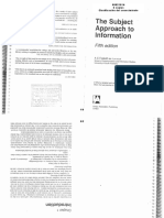 FOSKETT - The Subject Approach to Information, Cap 1