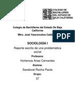 Sociologia Reporte