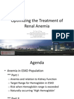 (Roche-Dialysis Expert Workshop) Optimizing the Treatment of Renal Anemia. 100412