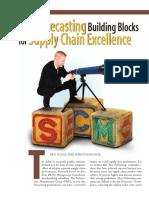 PRTM Three Forecasting Building Blocks
