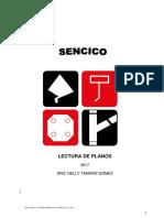 LEC. PLANOS DE ARQUITECTURA  2017 SENCICO