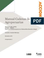 Manual Cadenas de Valor Agropecuarias