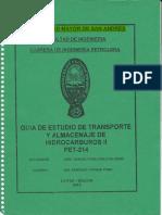 Guia de Transportes de Hidrocarburos