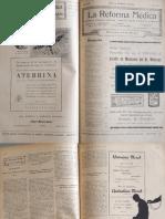 La Reforma Médica N° 183, 1934