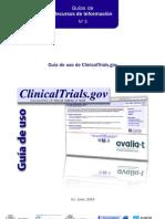 Guía de uso de ClinicalTrials.gov