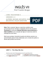 INGLÊS VII - Units 1 - 3.pptx