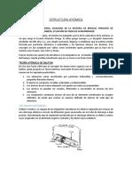 Copiar Estructura atómica