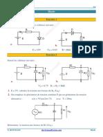 exercices electronique