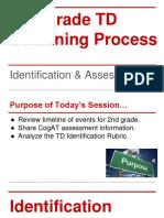 pineville second grade td screening process
