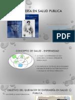 Enfermería en Salud Publica Introduccion